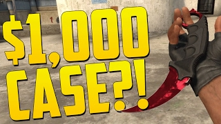 THE $1,000 CASE!! - Drakemoon Case Opening