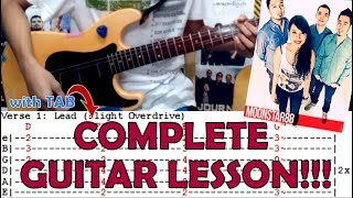 Torete - Moonstar88(Complete Guitar Lesson/Cover)with Chords and Tab