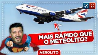 747 Supersônico - NYC a Londres em Menos de 5 Horas EP. 569