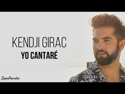 Kendji Girac - Yo Cantaré (Paroles)