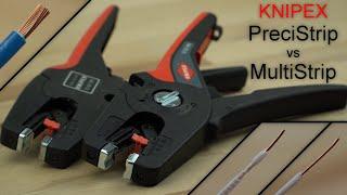 KNIPEX PreciStrip16 vs MultiStrip10 - automatische Abisolierzange Vergleich / Test | Werkzeug Review