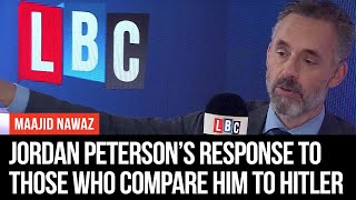 Jordan Peterson's Savage Response To Those Who Compare Him To Hitler   LBC