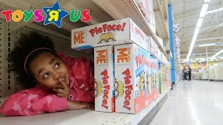 BEST HIDE AND SEEK SPOT In Toys R US | Toys AndMe