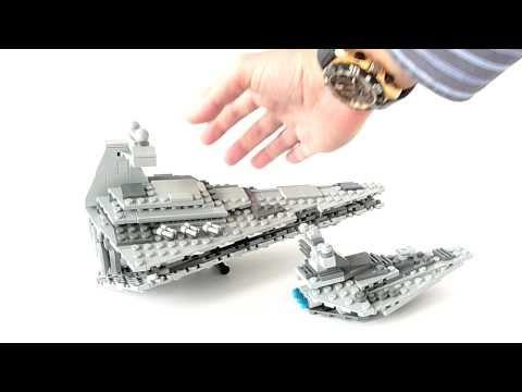 Vidéo LEGO Star Wars 8099 : Vaisseau Imperial Star Destroyer - Echelle réduite
