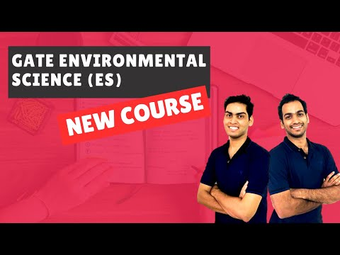 Launching New Course: GATE Environmental Science (GATE ES ...