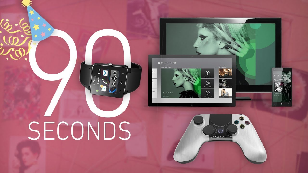 Sony's SmartWatch 2, Ouya delays, and Xbox Music: 90 Seconds on The Verge thumbnail
