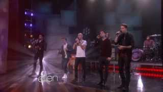 The Wanted Perform 'We Own the Night' on Ellen
