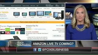 Live Amazon online TV streaming service on the way?