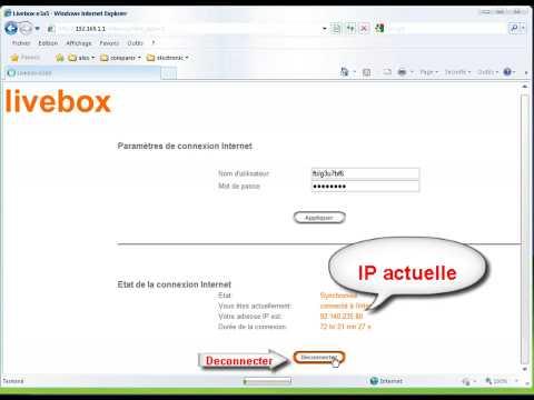 comment trouver adresse ip livebox