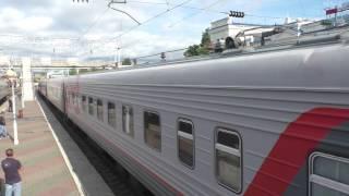 Электровоз ЭП1П-051 с поездом №677 Владикавказ - Новороссийск