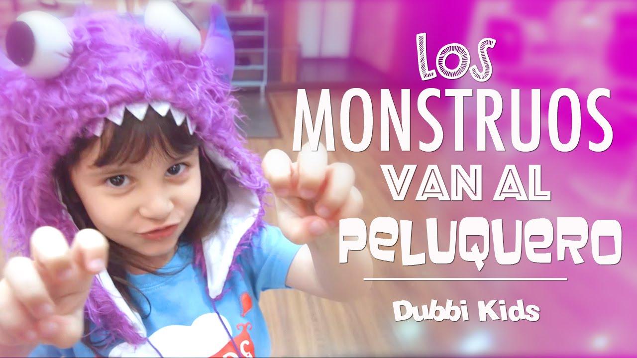 Los monstruos van al peluquero - Rock para niños - DUBBI KIDS