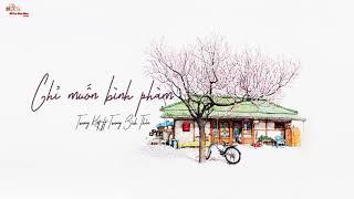 [Vietsub] Chỉ muốn bình phàm - Trương Kiệt + Trương Bích Thần [張碧晨 + 張傑 - 只要平凡]