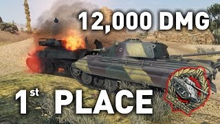 World of Tanks || E-50M - 1st Place in 200k Comp!
