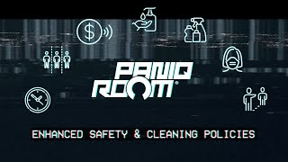 Enhanced Safety & Cleaning Policies – PanIQ Escape Room®