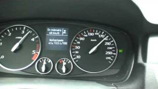 preview picture of video '2009 Renault Laguna 2.0dCi on the Autobahn'