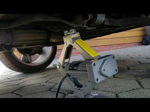 Elektrischer Wagenheber (Lescars) - Test am Chevrolet Captiva