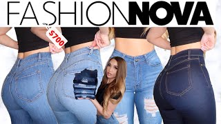FASHION NOVA DENIM TRY ON HAUL 2020! (THE PERFECT JEANS PT.2) | BEAUTYYBEYY