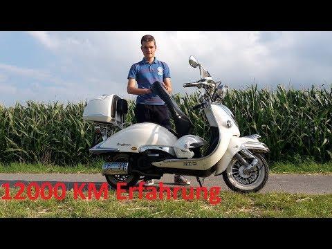 Vor- und Nachteile des Retro Rollers Znen 50ccm 12000 km Erfahrung Experience