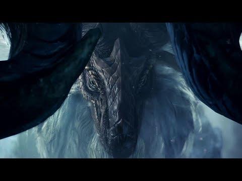 超大型DLC《魔物獵人:世界 ICEBORNE》最新介紹影片公開,幻之古龍登場!