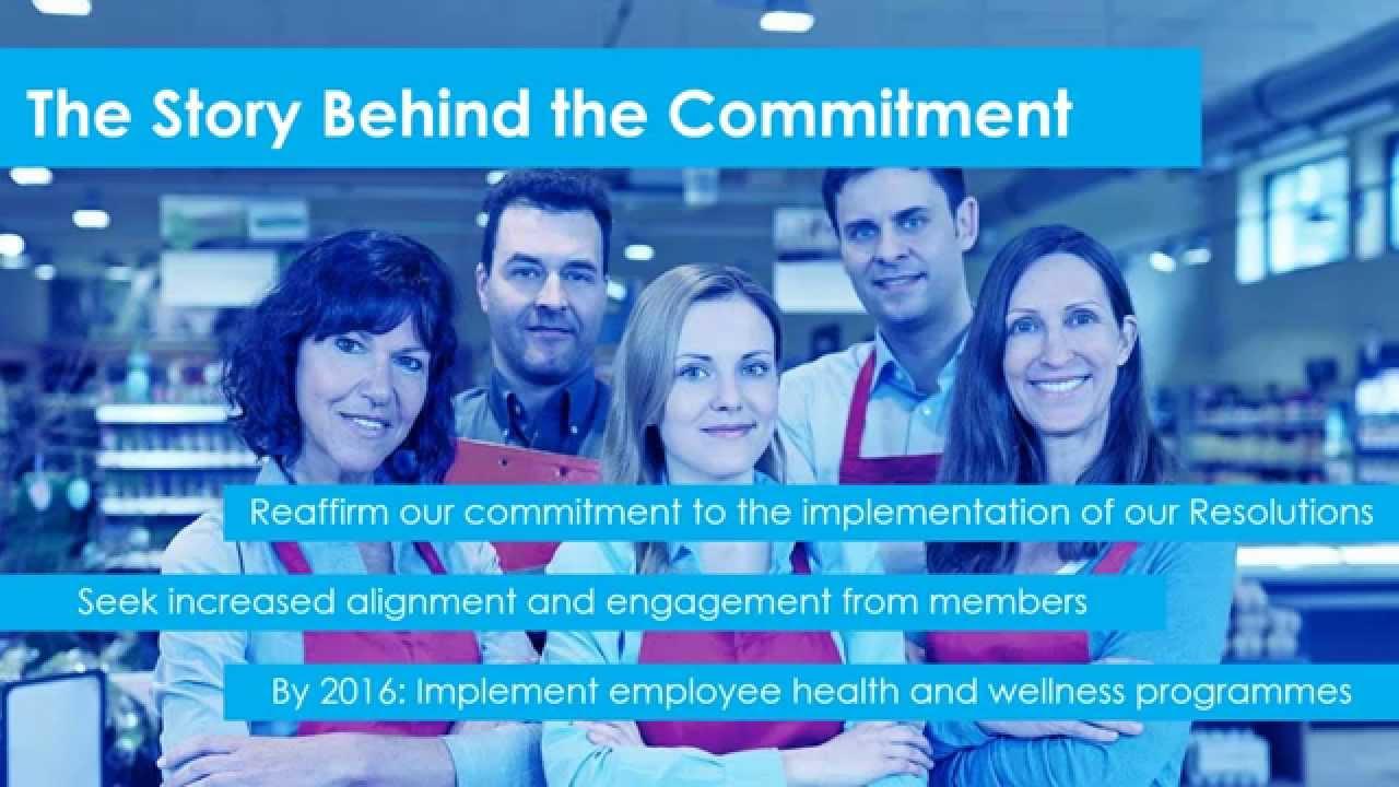 CGF Webinar on Commitment on Employee Health & Wellness