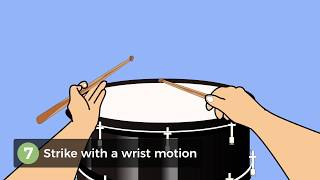 How to a Hold Drumstick Using the Traditional Grip