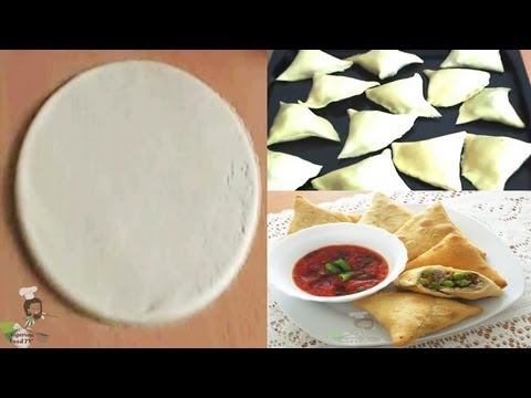 Download Homemade Samosa Wrappers ( Samosa Dough) HD Mp4 3GP Video and MP3