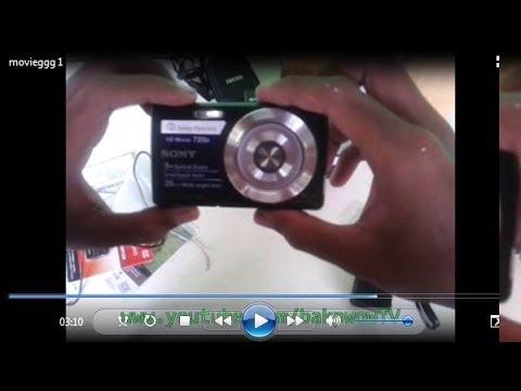 Unboxing Sony Cybershot DSC-W620