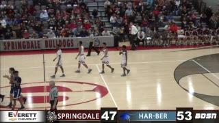 SHS Basketball   vs Har-Ber High School