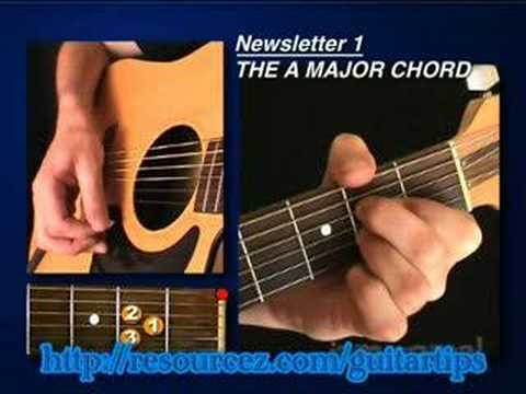 Teach Me How To Play Guitar Online: Guitar Lesson #1