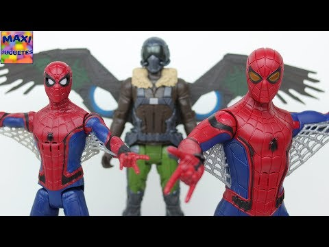 Juguetes de Spiderman Homecoming | Figuras interactivas