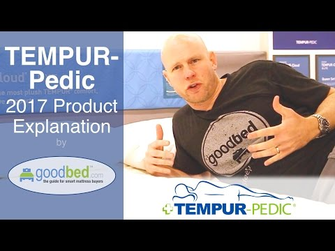 TEMPUR-Pedic Product Lines (2017) EXPLAINED by GoodBed (VIDEO)