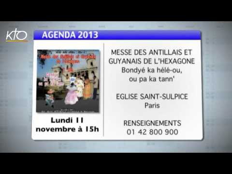 Agenda du 08 novembre 2013