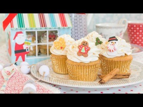 Cupcakes de ponche de huevo - Receta - María Lunarillos | tienda & blog