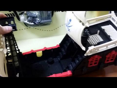 Пиратский корабль со световыми и звуковыми эффектами