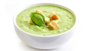 СУП ПЮРЕ из БРОККОЛИ со ШПИНАТОМ со СЛИВКАМИ  Broccoli soup