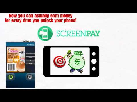 Video of ScreenPay- Get Paid to Unlock