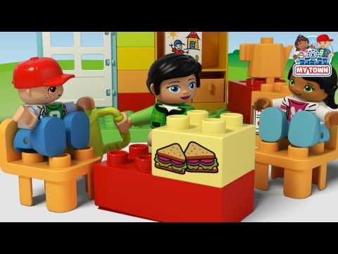 My Town Preschool - LEGO DUPLO - 10833 - Product Animation