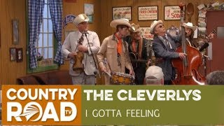 """The Cleverlys sing """"I Gotta Feeling"""" on Larry"""