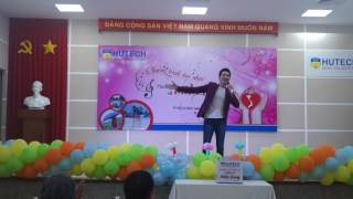 [HƯỚNG VỀ MIỀN TRUNG] TTVHNT HUTECH - Ca sĩ Nguyễn Phi Hùng