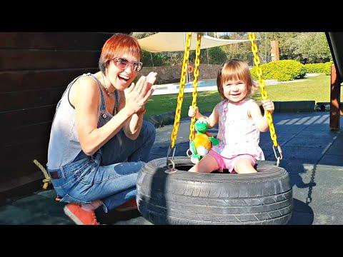 Привет, Бьянка и Маша Капуки на детской площадке в Турции - Игры с детьми
