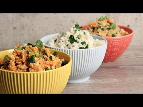 Video Cauliflower Rice 3 Ways | Episode 1152