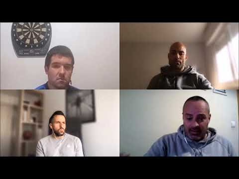 TERTULIA con David Navarro, César Láinez y Raúl Jardiel, entrenadores del Tarazona, Teruel y Brea.