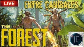 🔴 Directo de The Forest - Empezando aventura entre caníbales!!! #1