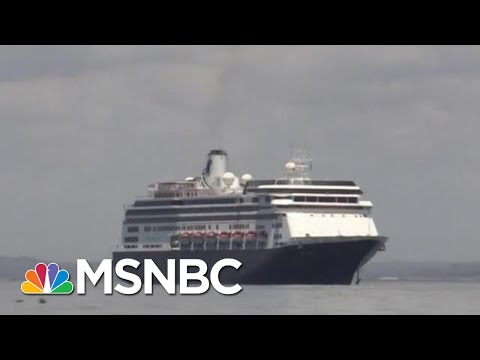 Deal Allows Cruise Ships With Coronavirus Patients To Dock In Florida | Hallie Jackson | MSNBC