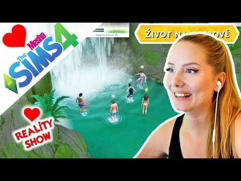 VOLNÝ DEN SOUTĚŽÍCÍCH NA PLÁŽI ● The Sims 4 - REALITY SHOW 08