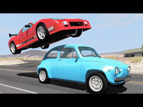 Flippin' Rollover Crashes #1 – BeamNG Drive | CrashBoomPunk