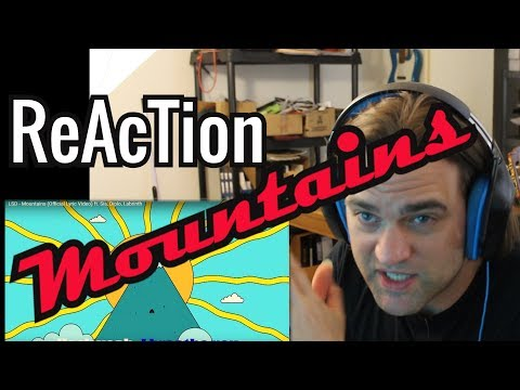 Reaction To LSD - Mountains (Official Video) Ft. Sia, Diplo, Labrinth // Review