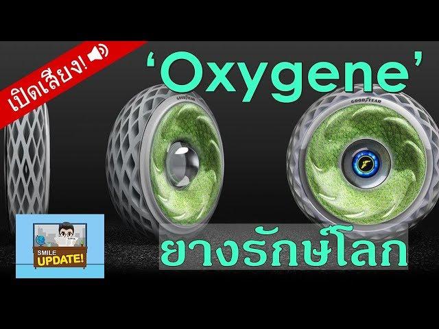 Smile Update: 'Oxygene' ยางรักษ์โลก เพิ่มออกซิเจนในอากาศ