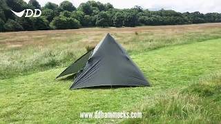 two person pyramid tipi tent