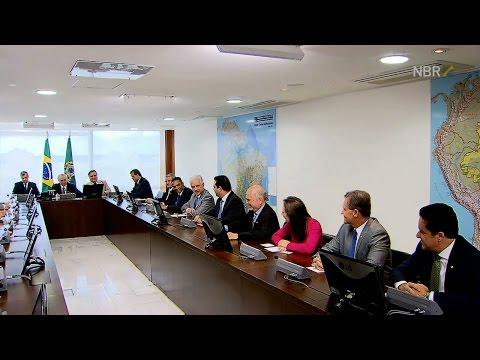 Presidente interino Michel Temer se encontra com lideranças da Câmara